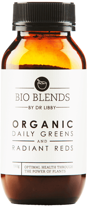 Organic Daily Greens and Radiant Reds